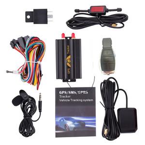 GPS103B GSM / GPRS / GPS TK103B automatique de voiture GPS Tracker dispositif de suivi avec le système d'alarme de voiture anti-vol télécommande