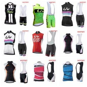 LIV KTM лето новый стиль Велоспорт Quick Dry рукавов Джерси жилет нагрудник шорты наборы дышащая спортивная одежда на открытом воздухе P62219