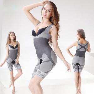 Natürliche Bambus Abnehmen Körper Anzug Shaper Firm Control Anti Cellulite Unterwäsche Ganzkörper schlanker Shaperwear Taille Ausbildung