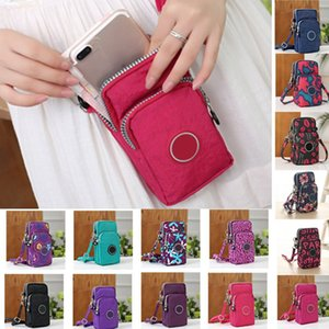 Women Storage Bags Case For Mobile Phones Bags Multi-purpose Makeup Wallet Crossbody Bag Handbags Pouch Belt Shoulder