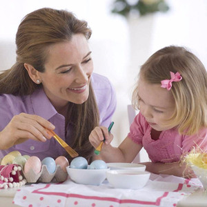 20 Products Simulation chicken Egg Children's Painting Easter Colored eggs Hollow Hatching eggs