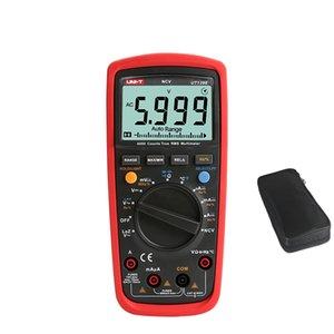 UNI T UT139E Multimètre numérique TRMS 6000 Count DMM AC DC multi mètre analogique barre graphique LPF LoZ NCV condensateur de testeur de température