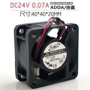 Original ADDA Inverter Server Fan AD0424MB-C50 4020 24V 0.07A