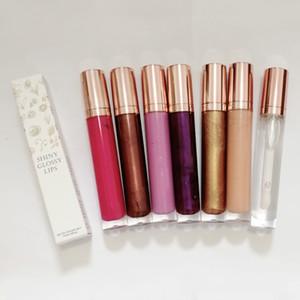Без логотипа блестящий глянцевый блеск для губ блеск для губ 7 цветов косметика для макияжа блеск для губ помада для губ долговечная водостойкая губная помада блеск для губ блеск для губ