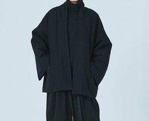 S-6XL Hot 2019 homens da mola de Moda de Nova personalizado de tamanho grande personalização Super solto Kimono