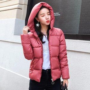 KAR PINNACLE Yeni Kış Kısa Ceket Kadın 2018 Moda Sonbahar Sıcak Kalınlaşmak Pamuk Yastıklı Aşağı Parkas Kadın Üst Giyim Ceket