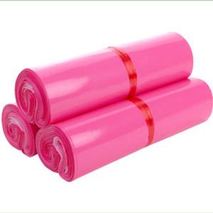 Mais recente Bolsas Mensageiro fosco rosa Auto-selo adesivo saco de armazenamento Matte material Envelope Mailer postais Mailing Bolsas