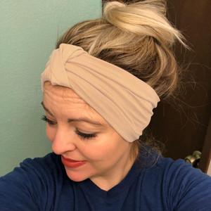 KANCOOCD Warm-Kopf-Verpackung Breithaarschmuck Mode für die Gesichtsreinigung Bügel 1PC elastische Damen Kopfbedeckungen 2019