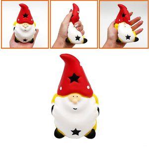 Рождество Squishy Squeeze Healing детские игрушки Kawaii Игрушка Санта-Клаус снятие стресса сброса давления Игрушки Slow Восходящая рождественские подарки