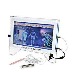 Meilleur quantique de vente analyseur de corps bio-électrique Quantum Resonant analyseur de santé du corps analyseur magnétique