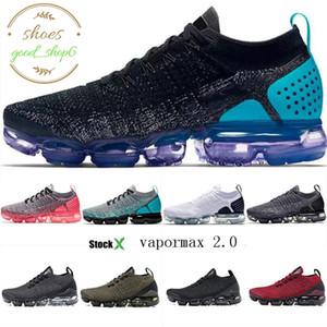 2020 neue Jahr Geschenke Luft Vapors Regenbogen-Frauen-Männer Schuhe Triple-schwarz weiß rot Trainer Sports Designer-Turnschuhe Max Schuh-Größe 36-45