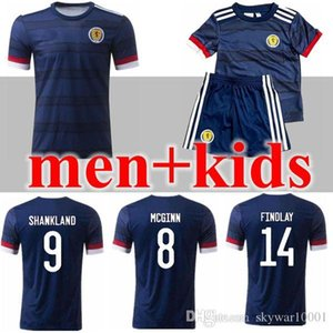 2020 2021 Scotland Soccer Jerseys 20 21 camisetas de fútbol home McGregor McGinn Armstrong Robertson national team football shirts thailand