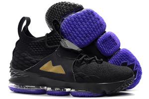 일가 X 르브론 15 개 XV 붕대 라이프 스타일 지퍼 스트랩 스포츠 신발 15 초 롱 라이브 왕의 남자 레저 스포츠 신발