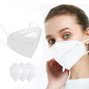 Face Masks Mask Filter Protect Mouth Face Mask Anti-l Pm2.5 Facial Mask Mascherine In Stock