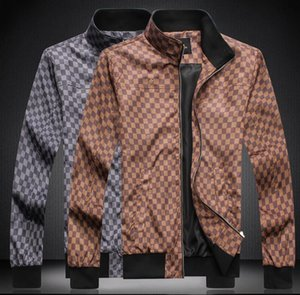 2020 Fashion Mens Designer Jackets With Pocket Decoration Hot Sale Printed Jackets Youthful Popularity Louìs Vuìttõn Jackets For Men