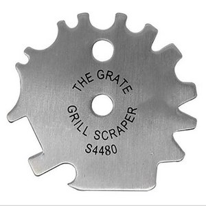 Wiilii BBQ Râper Grills Scraper brosse métallique en acier inoxydable Grill Cleaner Barbecue Nettoyage BBQ Outils Accessoires