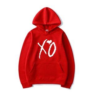 2020 Hop XO Women Printed The Weeknd Singer Popular Men Fashion Sweatshirt Pullover Trendy Hooded Casual Hip Coat11 Hoodie Hoodies Escea