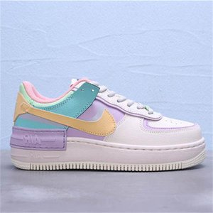 Nikè Air Forcè 1 Low Shadow AF1 Twist Hommes Candy Colors Designer Luxury Basket Slipper Board Men Shoes Sneakers Kanye Trainers 36-45