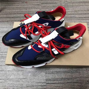 2019 Designer shoes Spike Sock Donna Red Runner Donna Vrs 2018 Sneakers Red Bottom Mens Womens Spikes Training Shoes