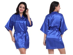 Summer Pure Color Women Robes Casual Designer V Neck Ropa de dormir femenina Paneles sueltos Ropa interior de mujer suelta con fajas