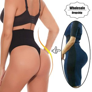 NINGMI Tummy Control Panties Femmes Sexy Butt Lifter Taille formateur Body Shaper Thong Robe De Mariée Shapewear Brief Slimming Pants