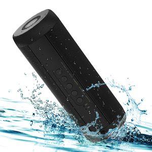 Mejor altavoz portátil Bluetooth estéreo inalámbrico gran potencia 10W IPX5 Wateproof TF FM de radio de música Altavoces Columna de Telefonía Informática