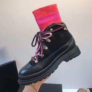 2019 Роскошные дизайнерские сапоги женские Новая мода Flock платформы высокие каблуки женщин осень зима вскользь ботильоны женщин Обувь Us5-10