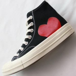 1970s Play Big Eyes Play Shoes Jointly Name 1970 Sneaker Skateboard Man Women Classic Fashion Canvas Casual Shoes 2020