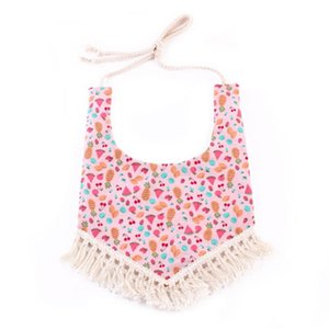 New Baby Boy Girl Tassels Bandana Bibs Lovely Feeding Saliva Towel Dribble Triangle Bib Strap Bibs