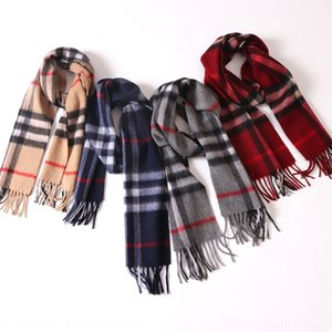 Yw57e 2020 Inner Mongolia pure cashmere plaid children's parent-child 2020 Inner Mongolia pure cashmere plaid children's Warm scarf parent-c