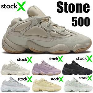 Top Moda 500 Pedra soft-visão Running Shoes Blush 500s Sal Osso Branco Super Utility Lua Amarelo Preto Kanye Homens Mulheres Sneakers