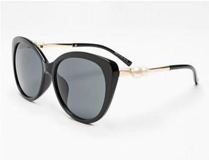 Top quality Brand new 2039 new pearl big frame occhiali da sole moda donna occhiali da sole femminili occhiali da sole