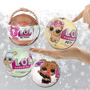 Nueva llegada LOL gran sorpresa muñeca Serie 1 y la Serie edición conmemorativa 3 muñecos LOL LOL muñecas sorpresa gi Navidad 10cm de la niña de huevo