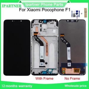 Per Xiaomi Pocophone F1 Touch Screen Display LCD di ricambio dell'Assemblea del convertitore analogico al 100% testato per Xiaomi Pocophone F1 con gli strumenti