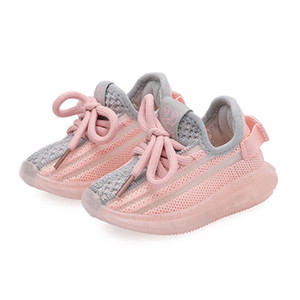 DIMI 2020 Spring Autumn New Baby Shoes Soft Non-slip Infant First Walkers Breathable Knitting Girl Boy Toddler Shoes Kid Sneaker