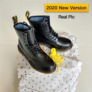 2020 uomini nuova versione Calzari Stivali Donna Classic Martin 1460 Nappa Sole è di olio e grasso resistente con buona resistenza all'abrasione e scivolare Resistanc