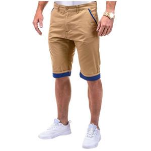 Fly Mens Shorts Designer Descontraído Verão Calças Cortos Wash Woven Tooling Pantaloncini Uomo Moda Sólidos Zipper