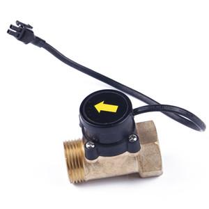 Control de interruptor de flujo de agua HT800 Fácil instalación de cobre 220V Sensor electrónico Hilo G1 Bomba de refuerzo magnética Ducha automática