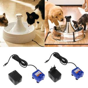 Fountain Питьевой Silenced фонтанный насос адаптер питания Автоматическая Pet Cat собак воды