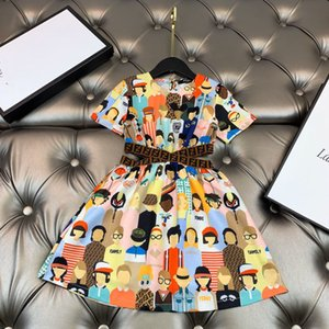 o envio gratuito de alta qualidade de moda infantil vestido baby girl verão verão outwear vestido de festa menina