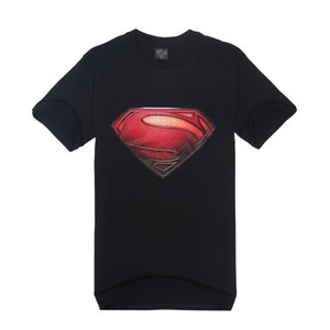 New fashion foreign trade personalized rock creative sports short sleeve T-shirt men's 3Dt-shirt Superman pattern printing887