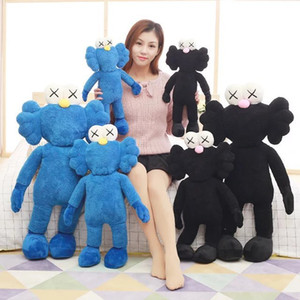 50cm ~ 90cm Newest Kaws Thailand Bangkok Exhibition Sesame Street Kaws BFF Plush stuffed Doll model cotton Toy baby kids gift