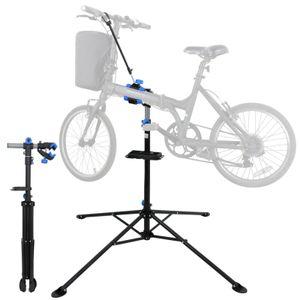 """Pro Vélo réglable 41"""" à 75"""" Stand de réparation w / télescopique Bras cycle vélo rack"""