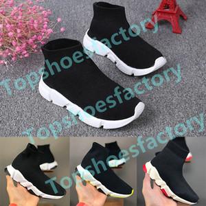 Balenciaga Sock shoes Luxury Brand  Geschwindigkeit Socke hoher Turnschuh-Tess Mesh-Outdoor-Sportschuhe Kleinkind Junge Mädchen Trainer Stretch-Strick