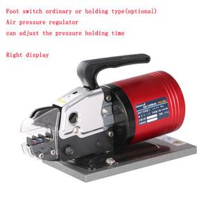 5-й пневматический терминал Charmer Clinter Clamp Machine Hold Press Tool Tool Transcle Tool с переключателем педали и давлением или давлением