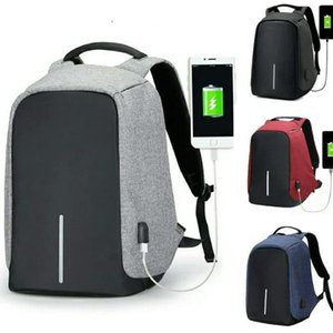 Backpack Tas Interface Câble USB Adaptateur de charge PRIA USB Chargement / ranket Ordinateur portable Kerja MultyFungsi Emmdq