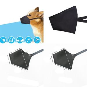 قابل للغسل القماش الوجه قناع التنفس الكلب تنفس Mascherines مستلزمات الحيوانات الأليفة واقية في الهواء الطلق الغبار الحاجز 11pt UU