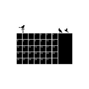 Wall Sticker fai da te mensile Planner Calendario Lavagna Lavagna decalcomania della decorazione del salone ecologico impermeabile 19DEC14