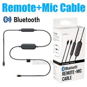 Bluetooth Uzaktan + Mic Kablo RMCE-BT1 Kulak içi kulaklıklar için SE215 SE315 SE425 SE535 SE846 Kontrol Kabloları Spor Kulaklık olmak