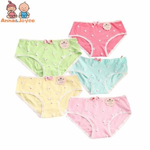 5 Pcs Lot Soft Cotton Young Girl Briefs Candy Colors Girls Panties for Teenage Kids Underwear Pants Underpants 9-20T